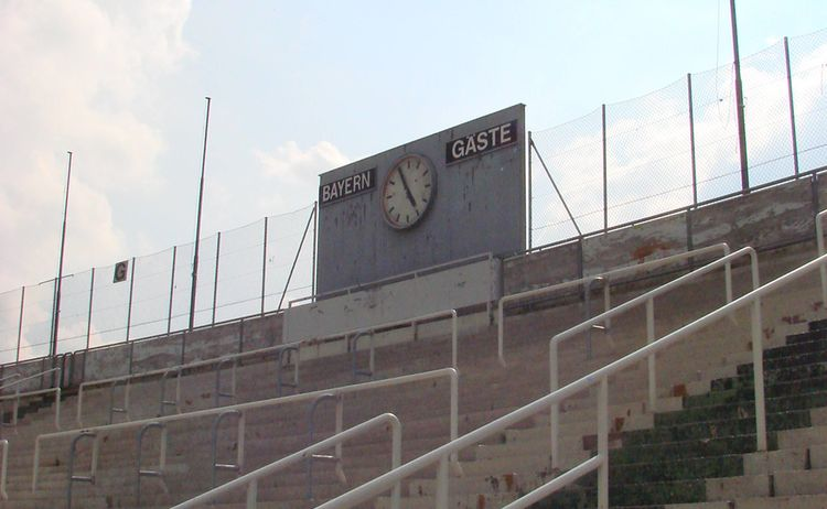 097 Stadion 3 Liga Dsc03454 Anzeige Westtribuene
