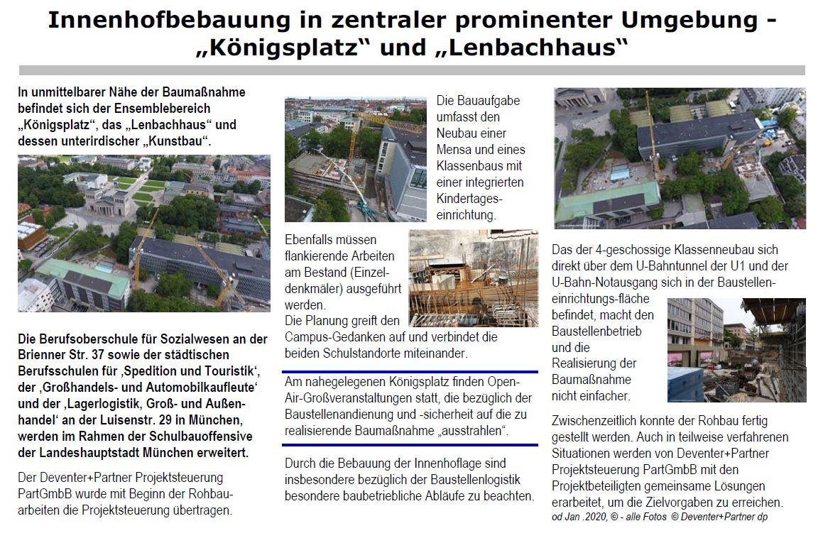 """MLB Innenhofbebauung in zentraler prominenter Umgebung - """"Königsplatz"""" und """"Lenbachhaus"""""""