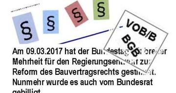 Z Teaser Neues Bauvertragsrecht Ab 2018 Teaser